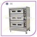 aprobado por la ce de la cubierta 3 6 bandejas de horno de pan utilizadoindustrial horno de cocción para panadería