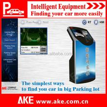 Big parking lots intelligent finding car system