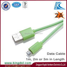 Colorful internet and phone service cable for ipad adaptor