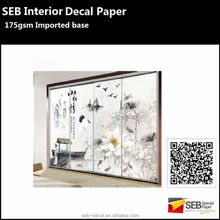 SEB Interior Decals | home decoration decals water transfer printing paper