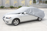 100% waterproof heat welded PEVA material 13101 car cover