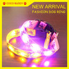 Hot selling Mickey Mouse Lamp beads LED shining pet dog training collar