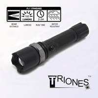 (1500095) Classic 180LM Rechargeable LED Strong Light Low Price Flashlight