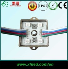 Welcome OEM ODM good price led module 5050, waterproof led module rgb,ce rohs smd 4 led module ip68