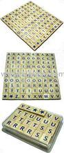 scrabble tiles box set