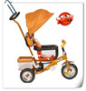 2015 KEXILI Luxury gold color children tricycle with quick release wheels