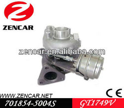 GT1749V turbo for Audi Cars A4 / A6 with TDI 110 Engine