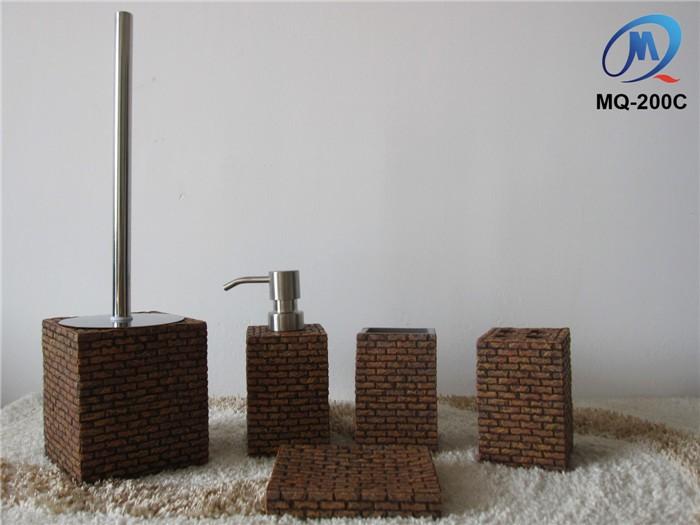 moderne hotel polyresin badkamer sanitair set-badkamer sets, Badkamer