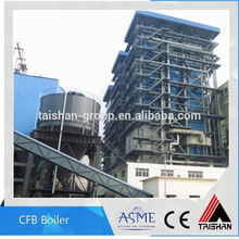 High Efficiency Municipal Solid Waste and Wood Chips Water Tube CFB Power Plant Boiler