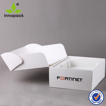 White Hard Paper Craft Case for Network Tool