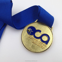 Professional Custom shape and color medals with ribbon