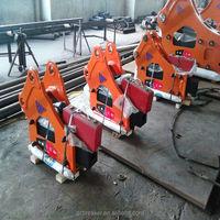 Krupp hydraulic breaker hammer spare part piston used in excavator