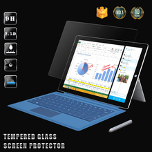 Factory price !! 0.26mm 9H Hardness 2.5D Anti-Fingerprint Laptop Tempered Glass Screen protector for Microsoft Surface pro