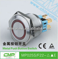 Wholesale Export 25mm Latching Push Button Switch