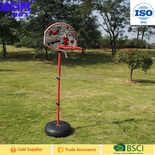 Children Water Filled Base Basketball Stand for Sale