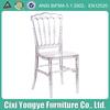 china crystal resin napoleon chair for wedding use