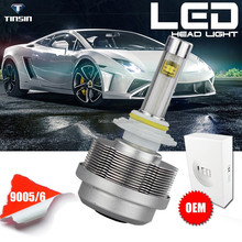Tinsin latest products dc 12v-24v 3600lm eti chip all in one toyota fielder headlight