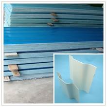1.5mm blue sky blue fire resistant fiberglass FRP sheet for wall, roofing panel