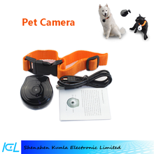 2015 DVR Pet Collar monitoring Camera For Puppy dog cat daily Life recording