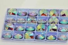 wholesale top quality crystal AB Rivoli 1122 crystal beads