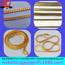 hardware bags garment accessories Golden silver gun bronze antique brass round square flat snake bone chain