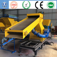 scrap tyre recycling plant with steel wire drawing machine and tires cutting machine for sale