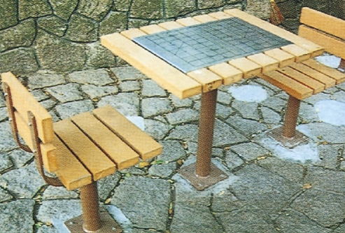 Etonnant Special Designed Outdoor Furniture Chess Table/china Tables Chairs ...