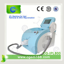 multifunctional beauty/multi e-light ipl rf laser and vacuum cavitation