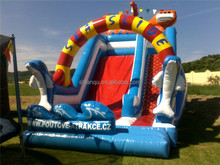 Top level best giant inflatable water slide for sale