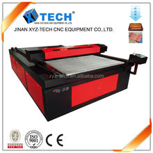 XJ1325 CO2 laser Engraving and cutting machine specially for leather engraving and cutting