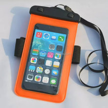 2015 hot new products mobile phone armband Waterproof bag for phone