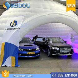 2015 Hot sale outdoor inflatable event tent car garage tent inflatable