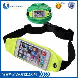 Running Belt, Treadmill Waist-belt Pouch for Men & Women for iPhone, Keys, Wallets