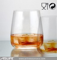 ASJP049 - Lead free crystal glass wine glass whisky glass