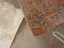 Granite blocks - tan brown and maple red colours
