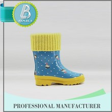 China derect manufacture Kids rubbers Boots