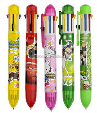 multiple colour pen for promotional gift or students(eight colour pen)