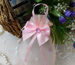 Personalized Cheap Organza Bags /Wholesale Organza Gift bags 9cm*15cm