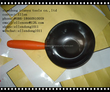 plastic handle cement bowl,putty knife,made in china cement bowl