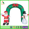 Cheap inflatable christmas arch/ outdoor christmas arches/ christmas light arch