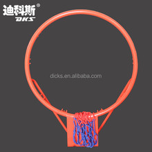 Mini Metal Orange Colored Basketball Ring
