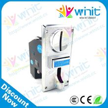 Reasonable price cpu electronic multi coin mechanism / coin validator / coin mech spare parts for coin operated telescope