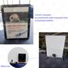 Battery powered crystal frame led light box