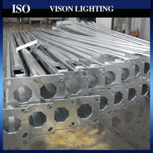 galvanized steel tapered street lighting pole
