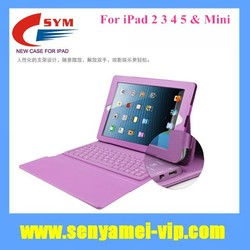 2015 Hot Selling Wireless Bluetooth Keyboard Case For iPad Air