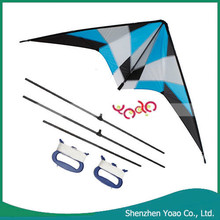Promotional 1.8m Small Storm Stunt Dual Line Large Kites for Sale