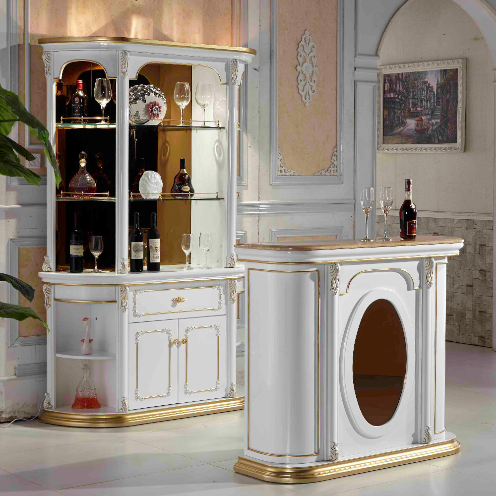 antique furniture sets french cheap wooden modern bar counter for sale