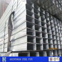 buyer request galvanized rectangular pipe on alibaba