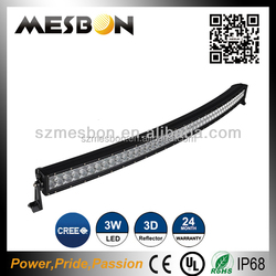 100% Optically Clear factory 10w offroad led light bar cheap 9 inch 108w quad row offroad led light bar
