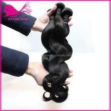 2015 alibaba fashionable fast delivery 6A grade indian body wave 100% human hair
